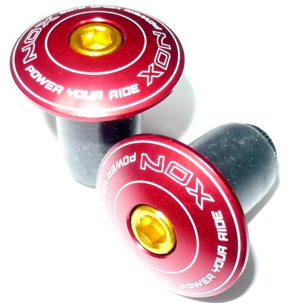 Грипстоппер XON XBG-11 распор., крышка AL красная, основание Ø18мм резиновое, чёрное   а