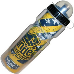 Фляга  (400ml) Day luen, V600AA, с колпачком, термос, пластиковая, жёлтая   а