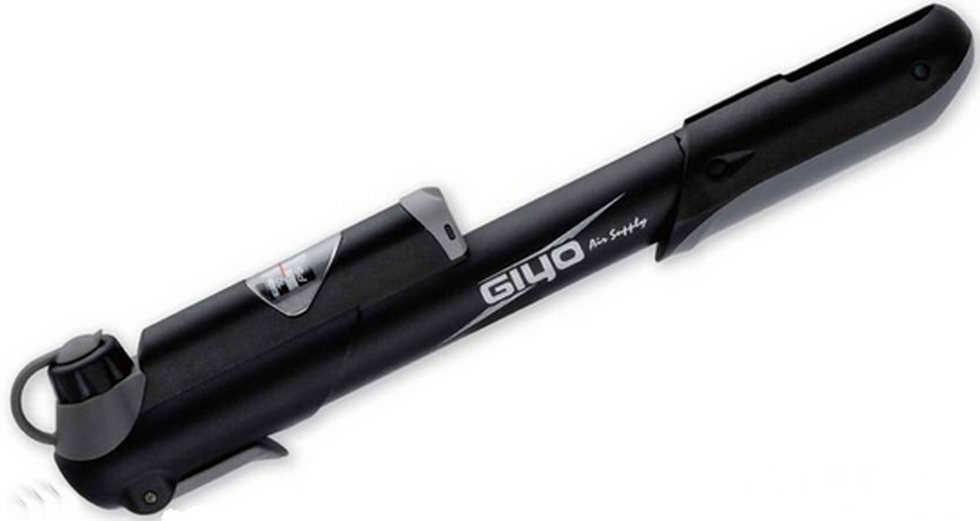 Насос GIUO GP-43S, пластиковый, Max. 120 PSI, с манометром   а