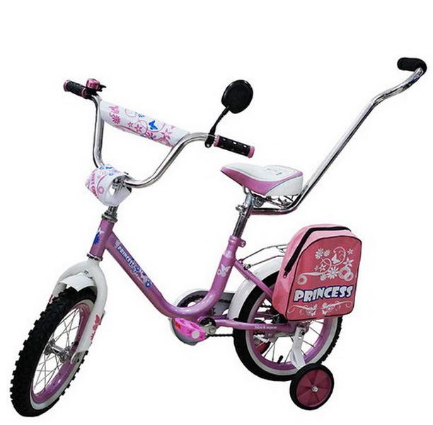 """Велосипед 12"""" Black Aqua Princess KG1202 светло-розовый"""