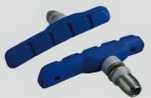 Kолодки тормозные V-br Alligator, VB-610-3-DIY, синие   м
