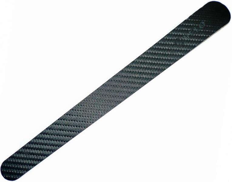 Компоненты Защита пера Velo, VLF-003-19, 260х27х20мм, карбон-полиуретан, чёрная   а