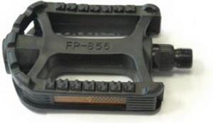 Педали FP-856 пластиковые, чёрные