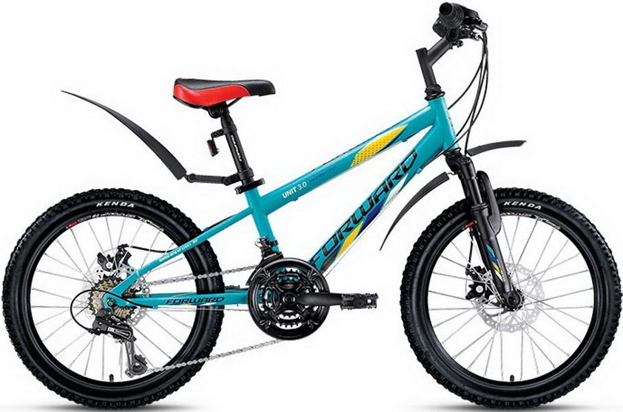 "Велосипед 20"" Forward Unit 3.0 18ск, St, Disc, синий"