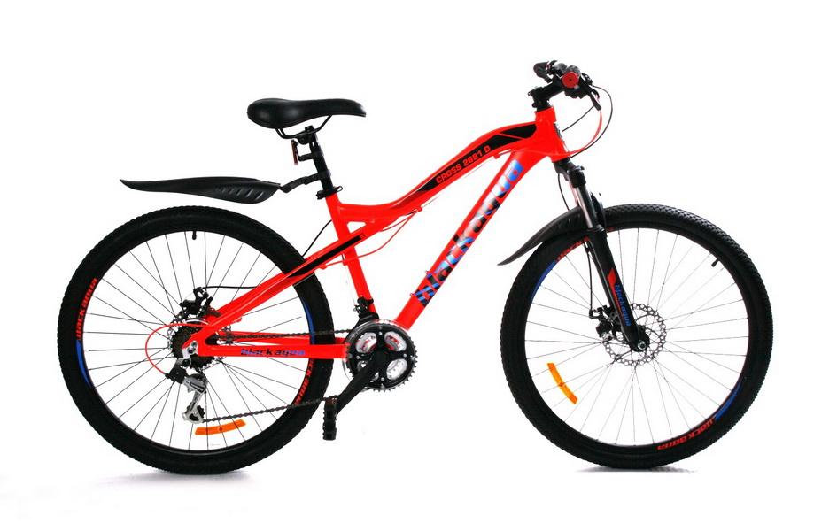 """Велосипед 24"""" Black Aqua Cross 2481 D GW-B226D 18ск, Disc, красный"""