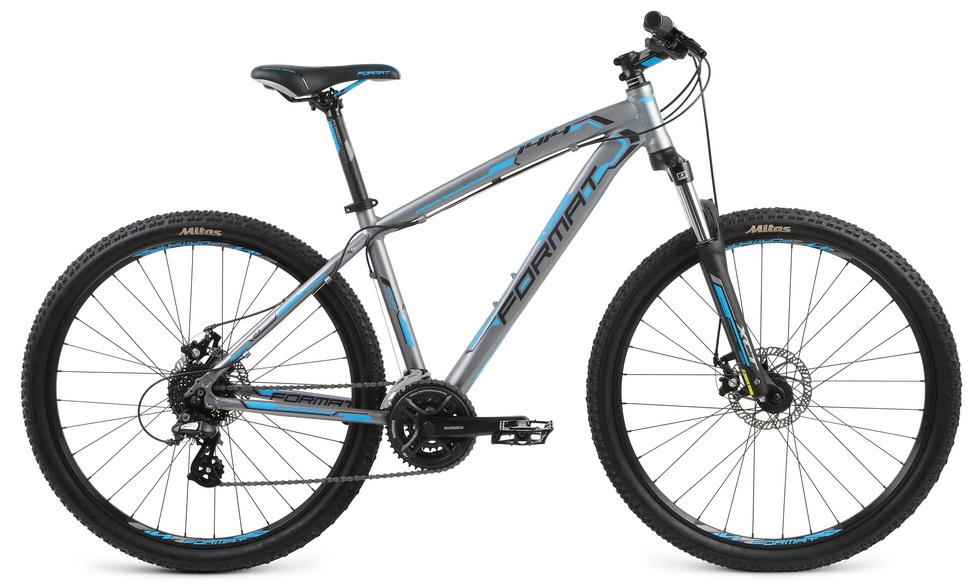 """Велосипед 27.5"""" Format 1414 (S"""") 24ск, AL, Disc, серый, модель 2017"""