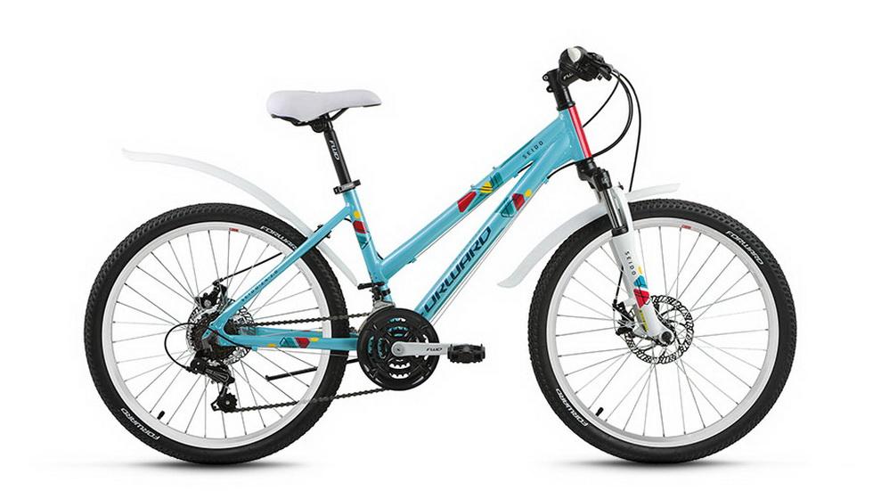 """Велосипед 24"""" Forward Seido 2.0 18ск, алюминиевая рама, Disc, зелёный"""