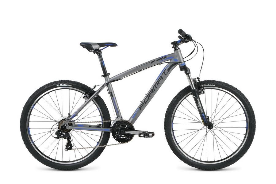 "Велосипед 26"" Format 1415 (L"") 21ск, AL, V-br, серый, модель 2016"