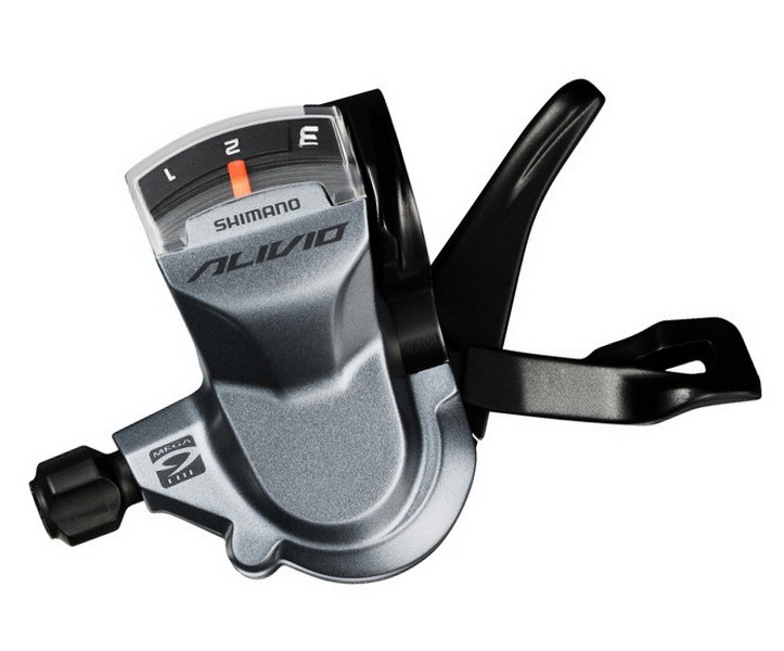 Шифтер Shimano SL-M4000 3ск Alivio, серый