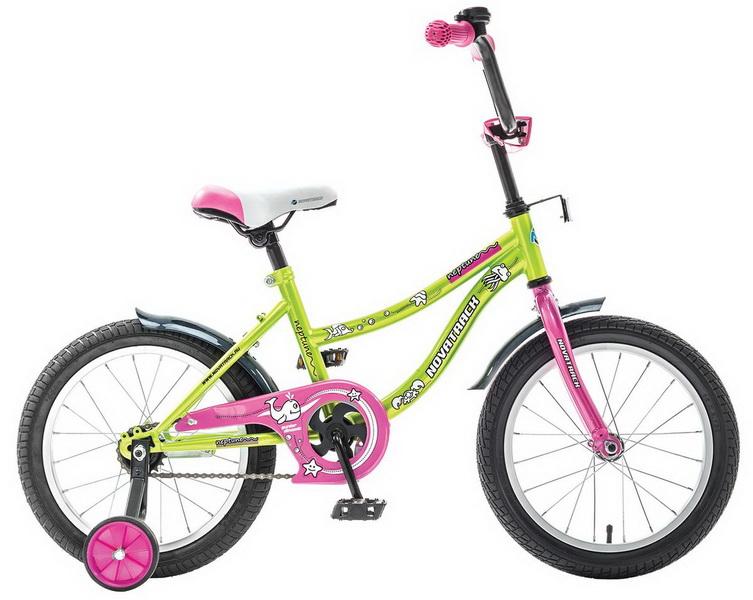 """Велосипед 12"""" Novatrack Neptun салатовый"""