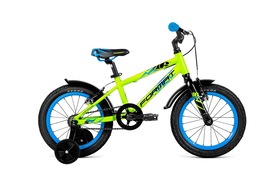"Велосипед 16"" Format Kids 1ск, AL, V-br, жёлтый"