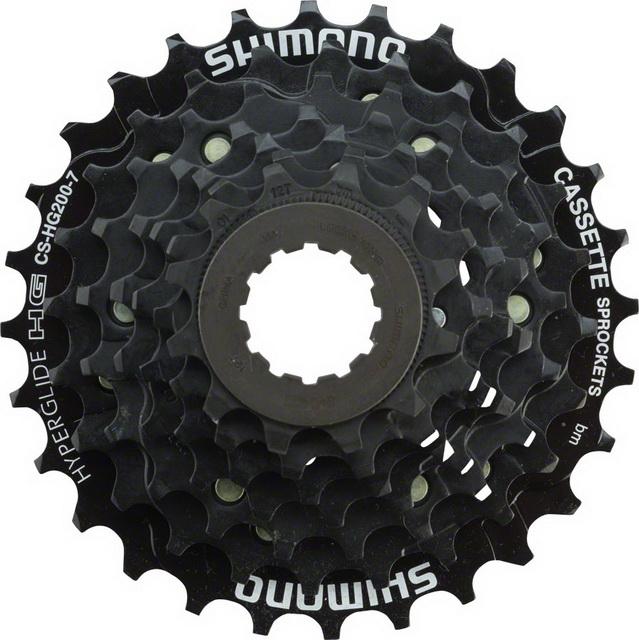 Кассета  7ск 12-28T Shimano CS-HG200 Tourney