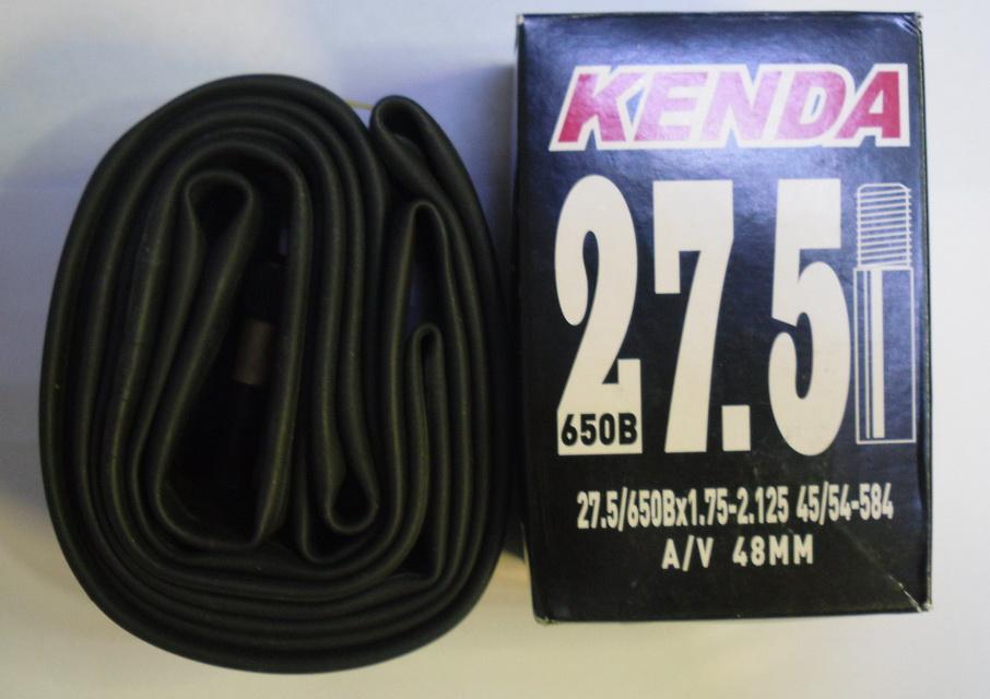 "Kenda велокамера 27.5""х1.75/2.125 (584-45/54) A/V-48мм (514449/518925)"