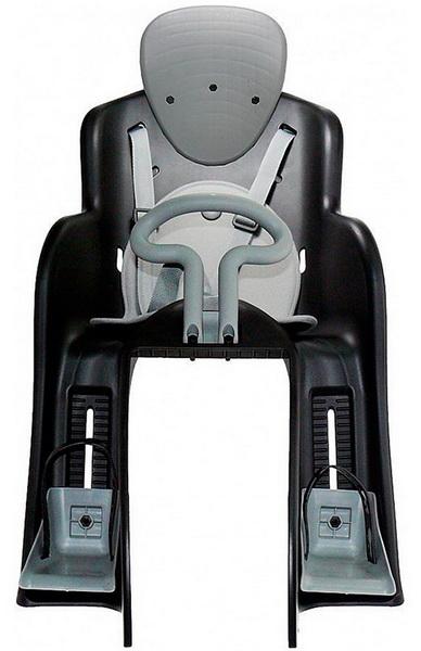 Седло (детское кресло), крепление на багажник, Geng Hung, GH-523, 22кг, чёрное   а
