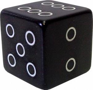 Колпачок (декоративный) A/V AL Primeaero, NZ-18, куб чёрный *
