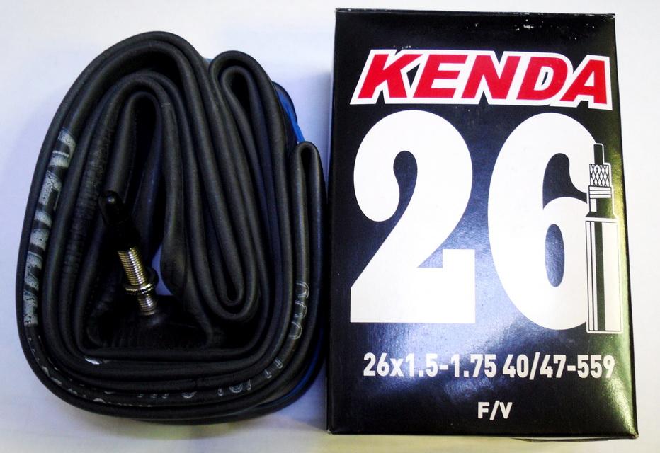 """Kenda велокамера 26""""х1.5/1.75 (559-40/47) 0.60мм presta F/V-40мм (511400)"""
