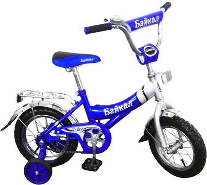 """Велосипед 12"""" Байкал В1203 синий"""