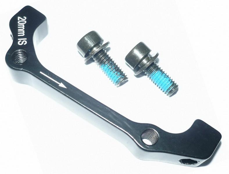 Адаптер дискового тормоза под ротор FØ180мм RØ160мм PM/IS VLX BR121   а