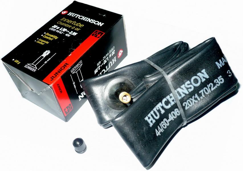 "Hutchinson велокамера 20""х1.7/2.35 (406-44/60) АV-32мм CV654301   а"