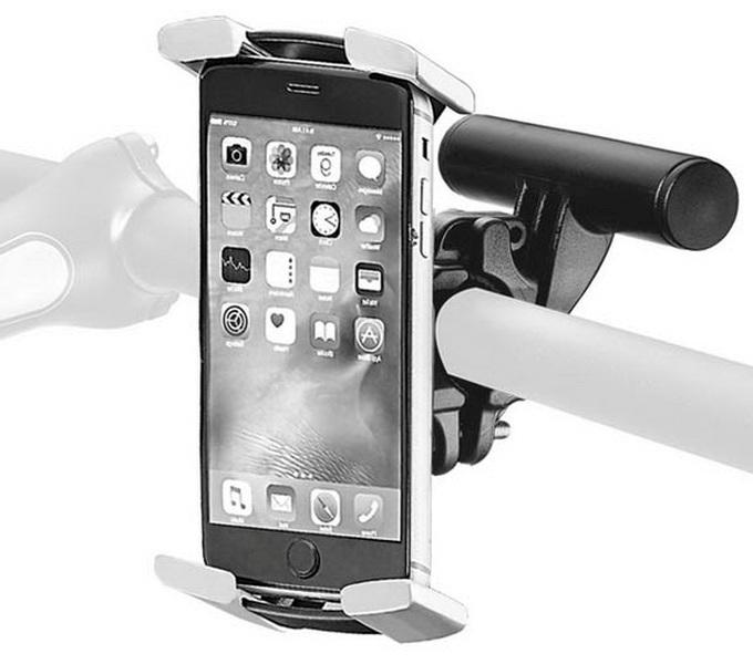"""Держатель на руль Ibera, IB-PB26Q6, для смартфона 4.3""""-5.8"""", с мини-рулем для фары, компьютера   а"""