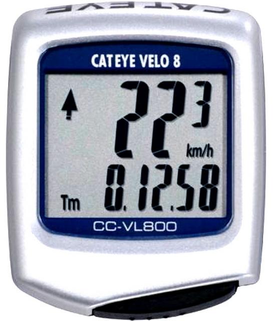 Велокомпьютер Cateye, CC-VL800, Velo 8, 8 функций