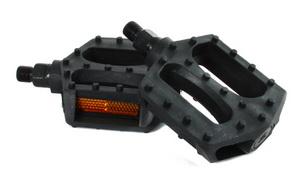 Педали FP-807, пластиковые, чёрные