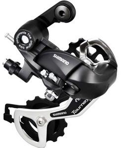 Переключатель задний Shimano RD-TX 35-SGS 6-7ск. Toyrney чёрный