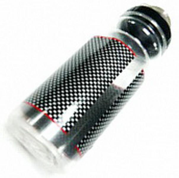 Фляга  (550ml) Day luen, DL-409KT/C, с колпачком, пластиковая, прозрачный карбон