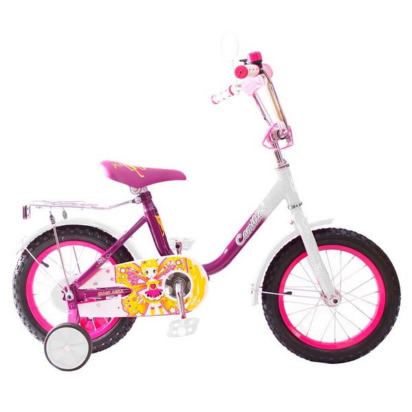 """Велосипед 14"""" Black Aqua Camilla KG1417 розовый, 2017г."""