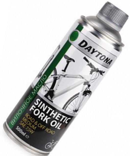 Масло для вилок 7,5W, Daytona, 2010137700, синтетика, 500мл   v