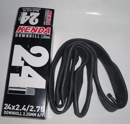 "Kenda велокамера 24""х2.40/2.75 (507-60/68) 2.25мм A/V-33мм (512684) Downhill"