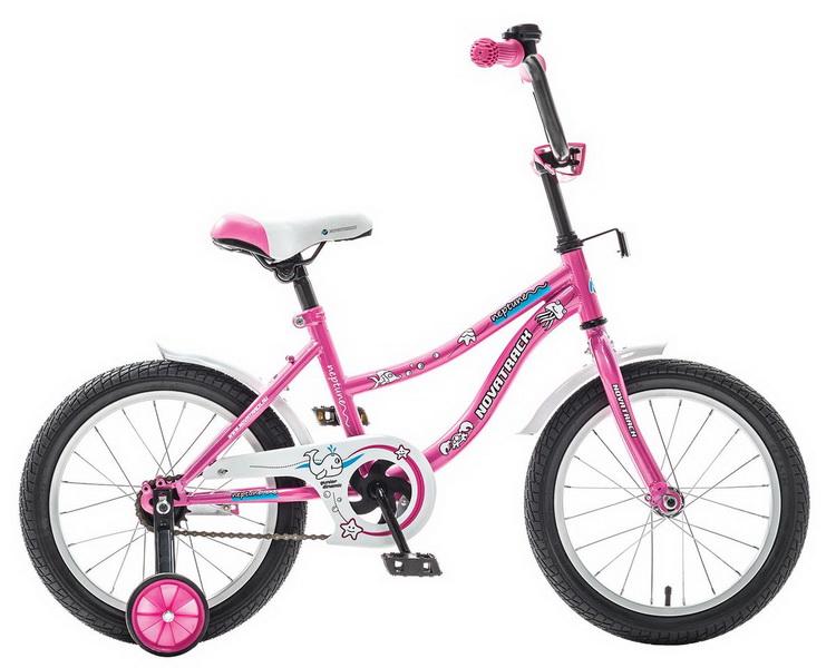 """Велосипед 12"""" Novatrack Neptun розовый"""