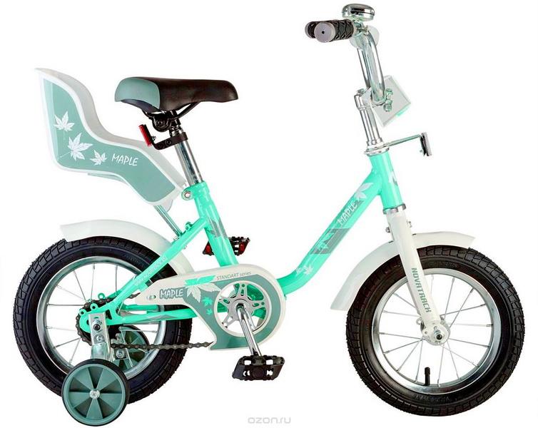 """Велосипед 14"""" Novatrack Maple мятный"""