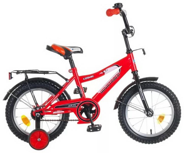 """Велосипед 14"""" Novatrack Cosmic красный"""