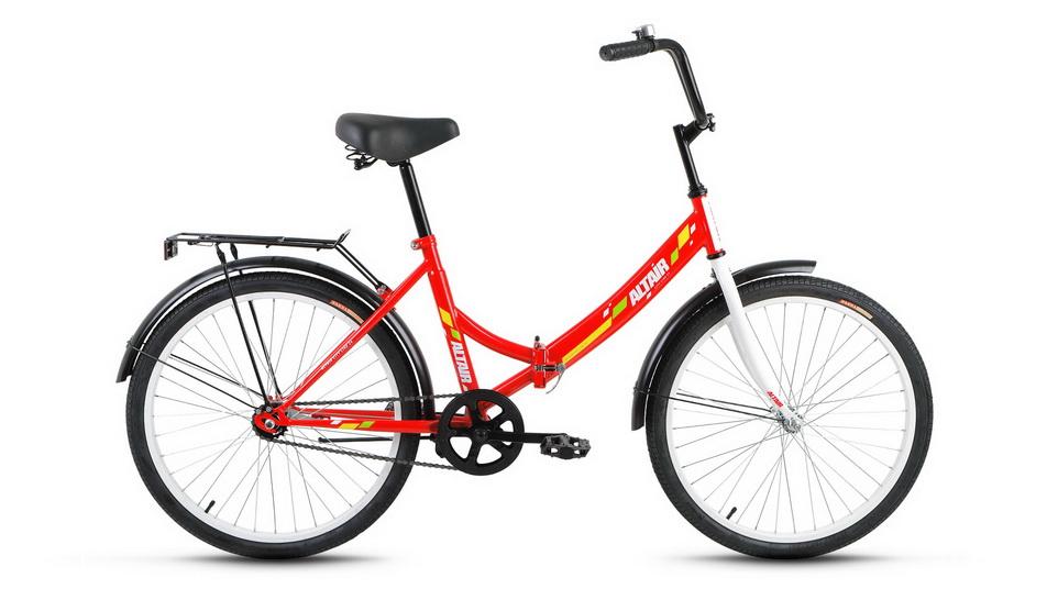 """Велосипед 24"""" Altair City складной, St, красный"""