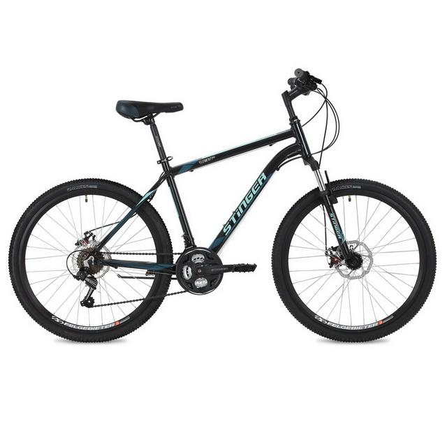 """Велосипед 26"""" Stinger Element D (22"""") 18ск, AL, Disc, чёрный"""