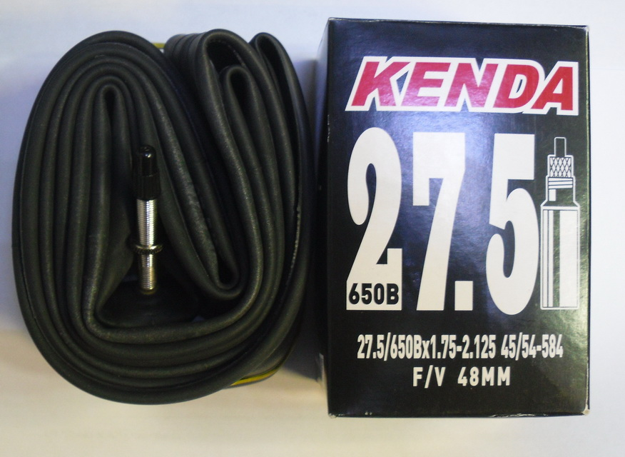 """Kenda велокамера 27.5""""х1.75/2.125 (584-45/54) presta F/V-48мм (511278/518920)"""