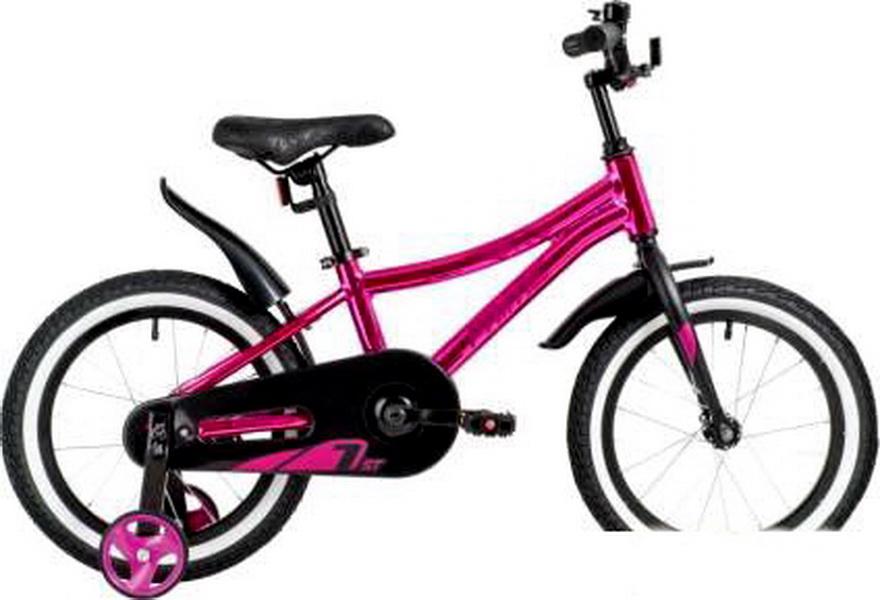 """Велосипед 16"""" Novatrack Prime, алюминиевая рама, розовый   скидка 40%"""