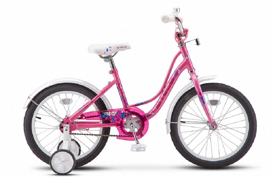 "Велосипед 18"" Stels Wind Z020, розовый"