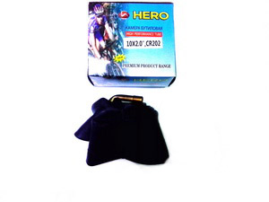 "Велокамера 10""х2.00 (152-54) A/V загнутый, Hero (бутил)   ч"