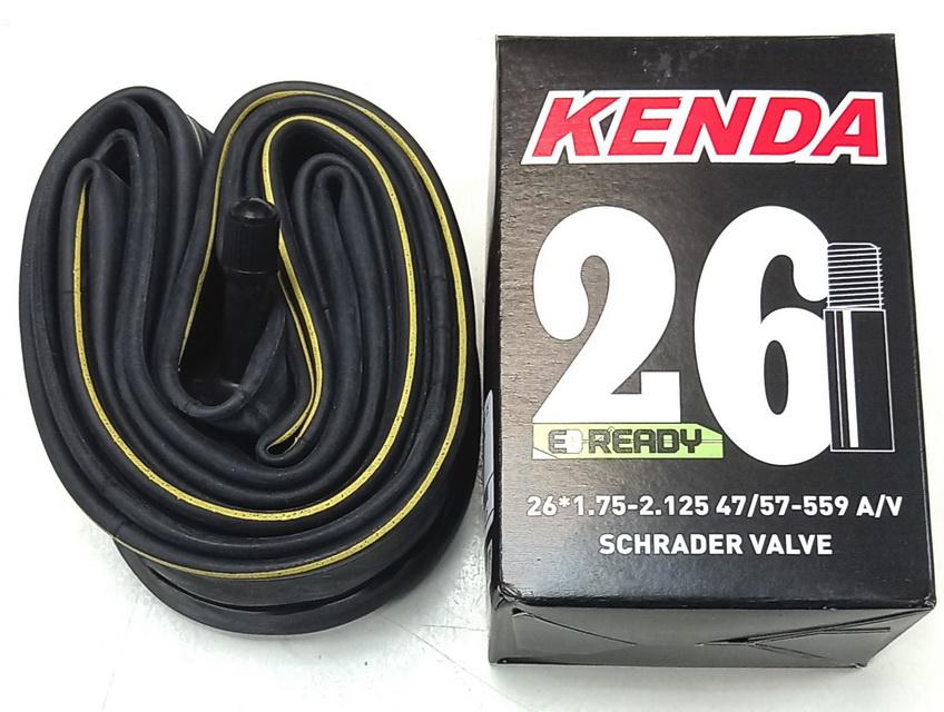 "Kenda велокамера 26""х1.75/2.125 (559-47/57) 0.87мм A/V-40мм (511313)"
