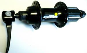 Втулка ROAD задняя 32Н, OLD-130мм, Ø10мм, QR, под кассету, Shimano, FH-3500, Sora, 8-10ск., чёрная
