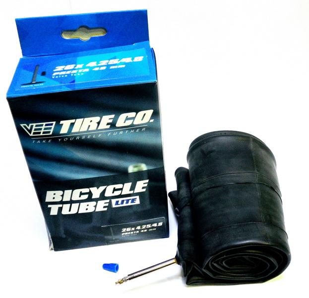 "Vee велокамера 26""х4.25/4.80 (559-108/122) presta F/V-48мм Premium lite, FAT Bike   м"