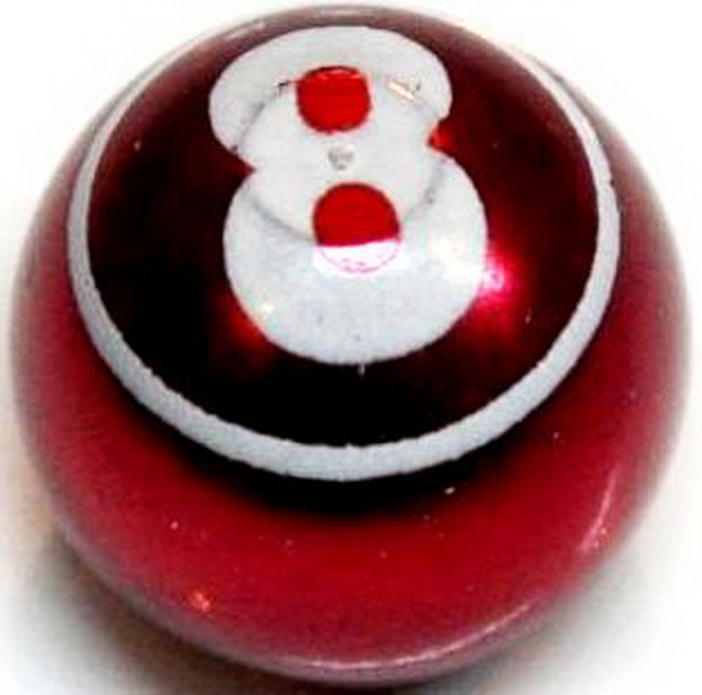 """Колпачок (декоративный) A/V AL Primeaero, NZ-08, шар """"8"""" красный *"""