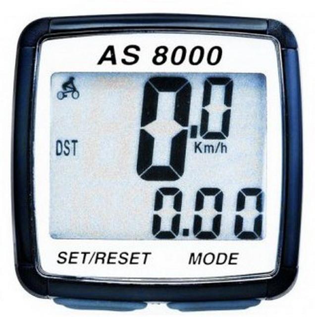 Велокомпьютер Assize, AS8000, 8 функций, беспроводной   ч