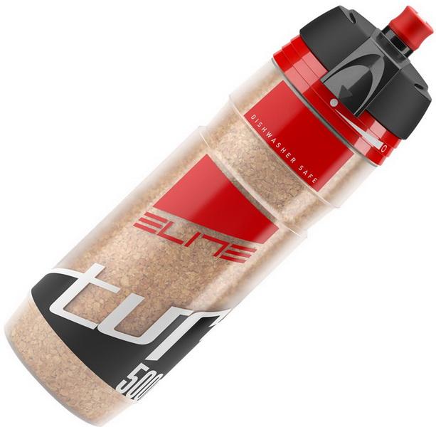 Фляга  (500ml) Elite, Turacio, EL0141305, термо 3 часа, мембранный клапан, наполнитель из пробки дерева, красная