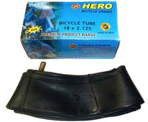 "Велокамера 18""х2.125 (355-57) A/V Hero   ч"
