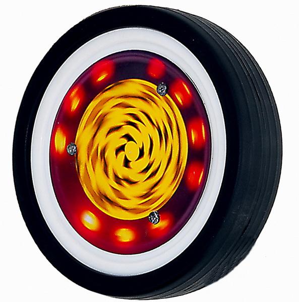 Колеса боковые со светодиодами 220 EX (не требуют батареек)