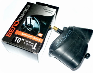 "Велокамера 10""х1.75/2.125 (152-47/57) A/V-32мм Sunchase   а"