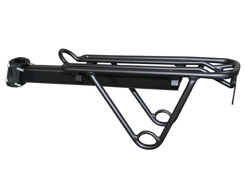 Багажник на подседельный штырь AL, сварной, CD-28B, чёрный   а